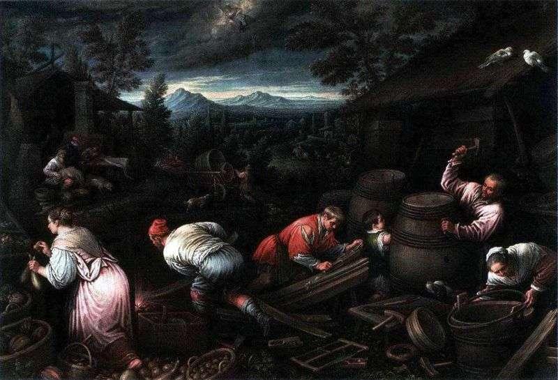 August   Jacopo Bassano