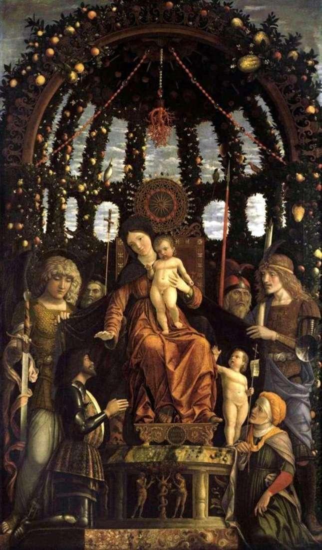 Madonna della Vittoria   Andrea Mantegna