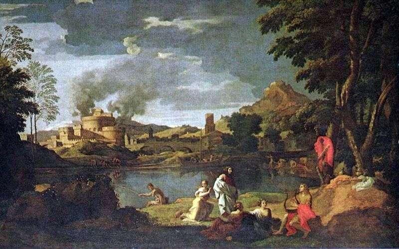 Orfeusz i Eurydyka   Nicolas Poussin