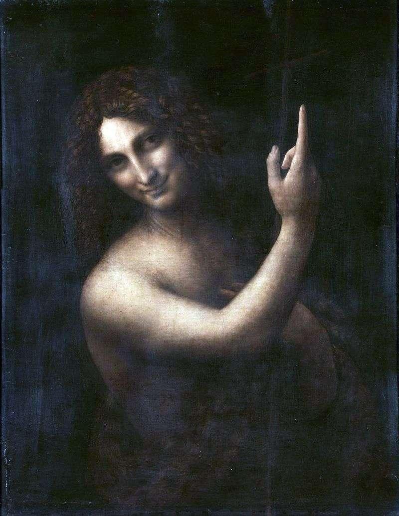 Święty Jan Chrzciciel   Leonardo da Vinci