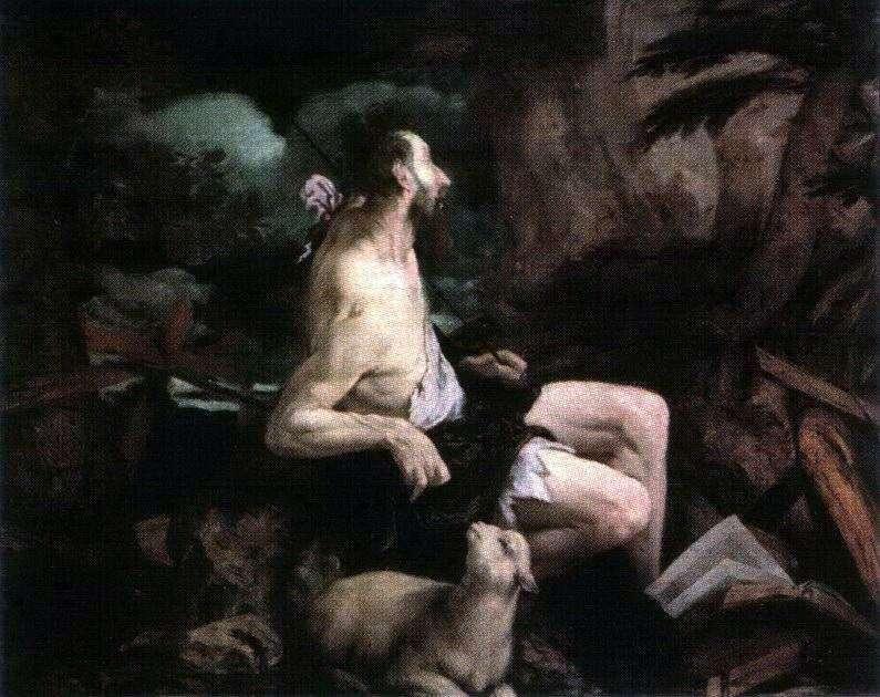 John the Baptist in the Wilderness   Jacopo Bassano