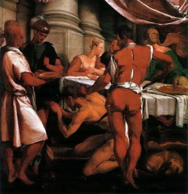 Wykonanie Jana Chrzciciela   Jacopo Bassano