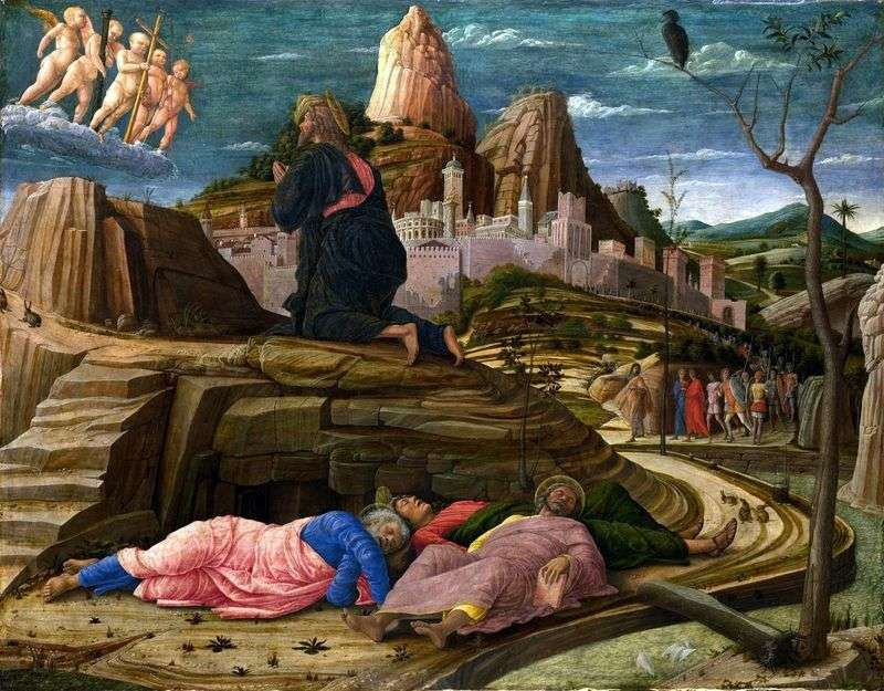 Modlitwa kielicha   Andrea Mantegna