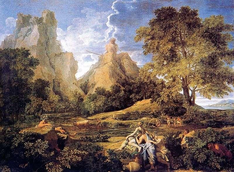 Pejzaż z Polifemem   Nicolas Poussin &;; nbsp