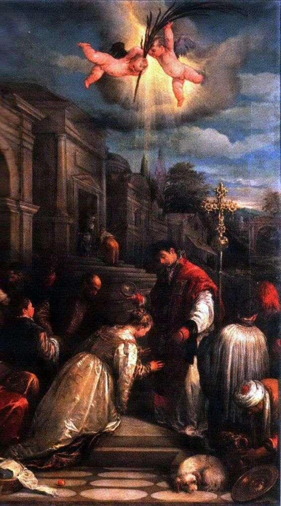 Chrzest św. Wawrzyńca   Jacopo Bassano