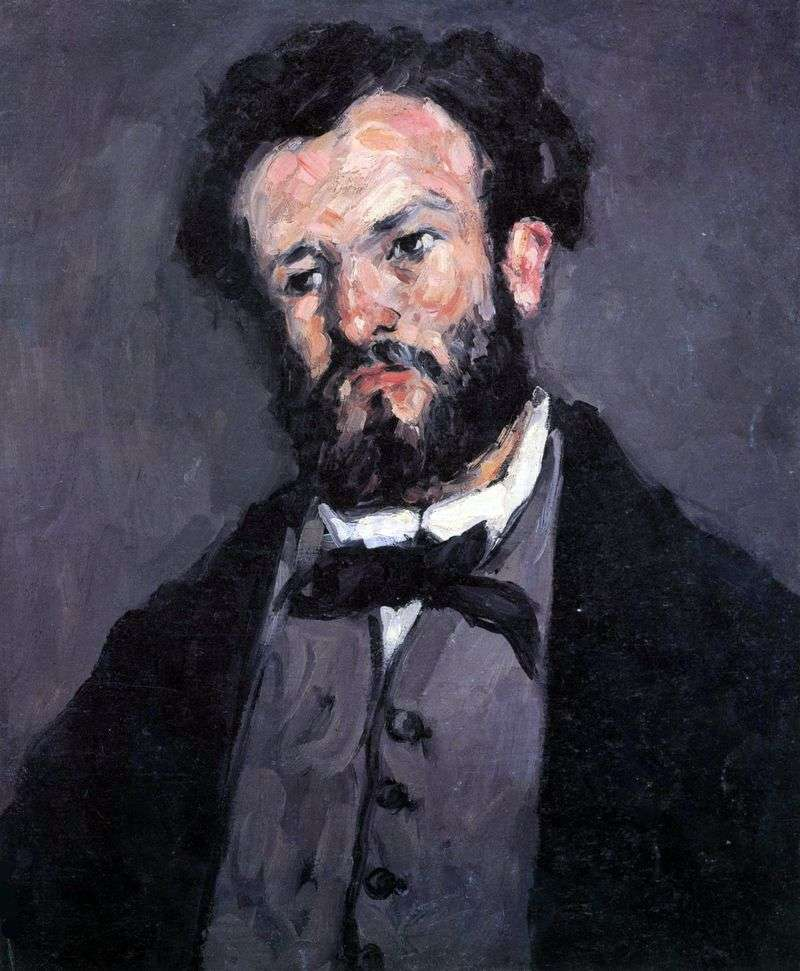Portret Valabreque   Paul Cezanne