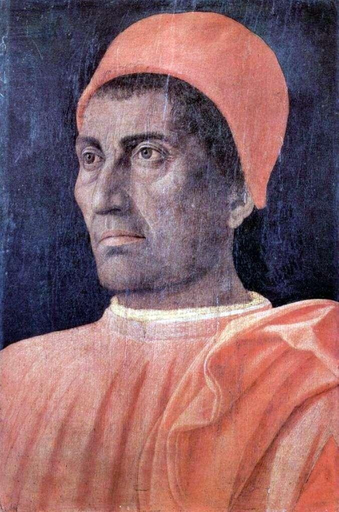 Portret męski   Andrea Mantegna