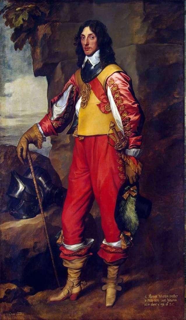 Portret Sir Thomasa Whartona   Anthonyego Van Dyke