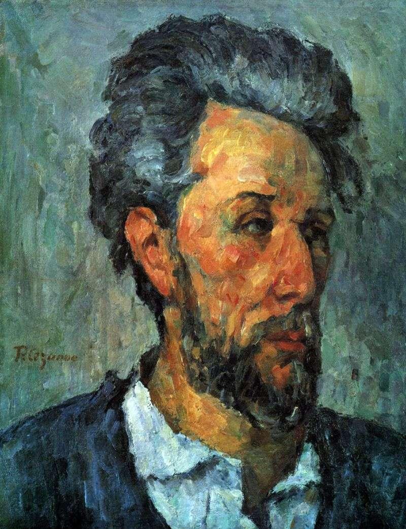 Portret Viktora Shoke   Paul Cezanne