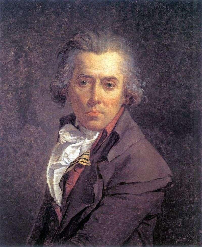 Autoportret   Jacques Louis David