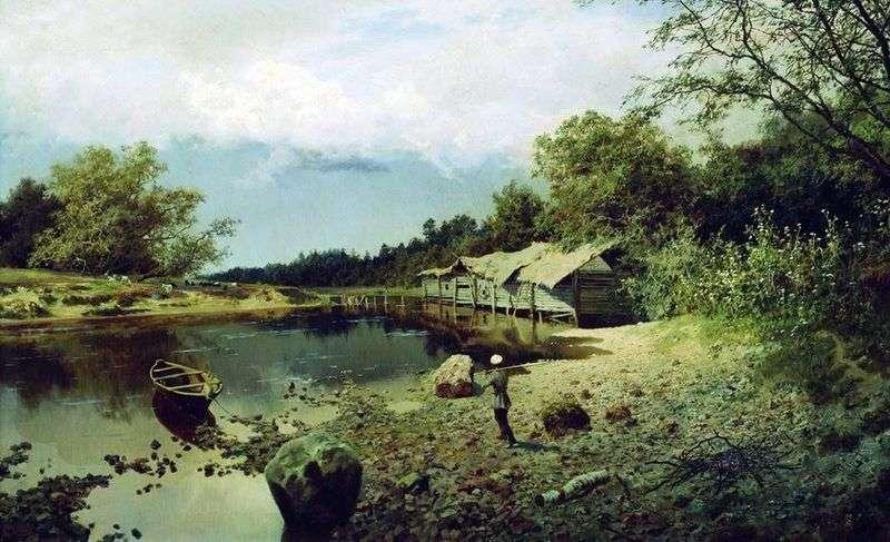 Zapomniany młyn   Alexander Kiselev