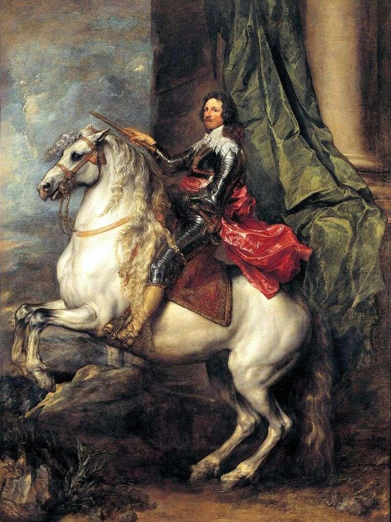 Książę Tommaso Francesco de Savoie Carignan   Anthony van Dyck