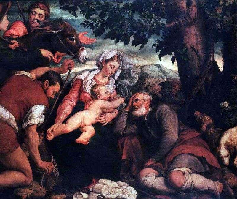 Odpoczywaj podczas lotu do Egiptu   Jacopo Bassano