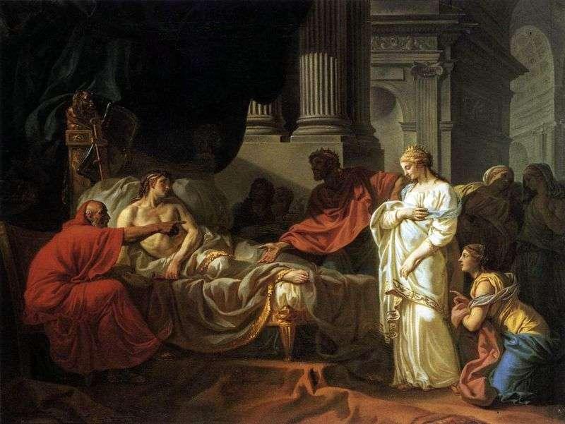 Antiochus i Stratonica   Jacques Louis David