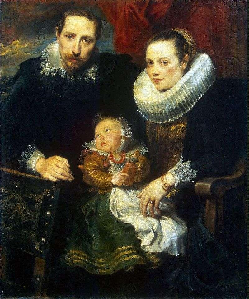 Portret rodzinny   Anthony Van Dyck