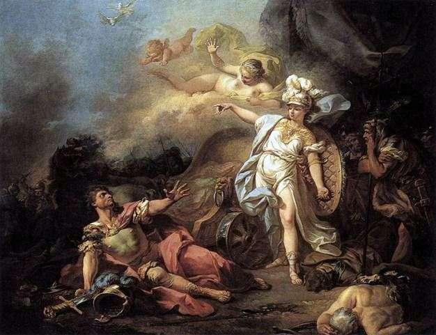 Bitwa o Marsa z Minerwą   Jacques Louis David