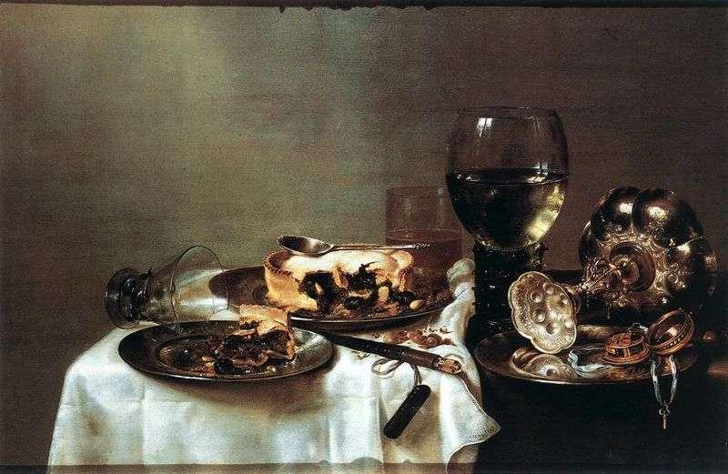 Śniadanie z jagodami   Willem Klas Kheda
