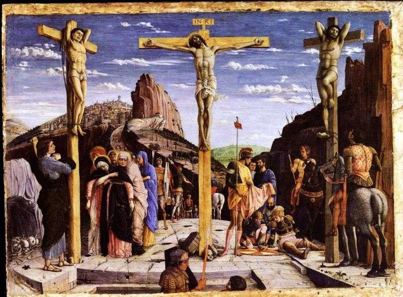 Ukrzyżowanie   Andrea Mantegna