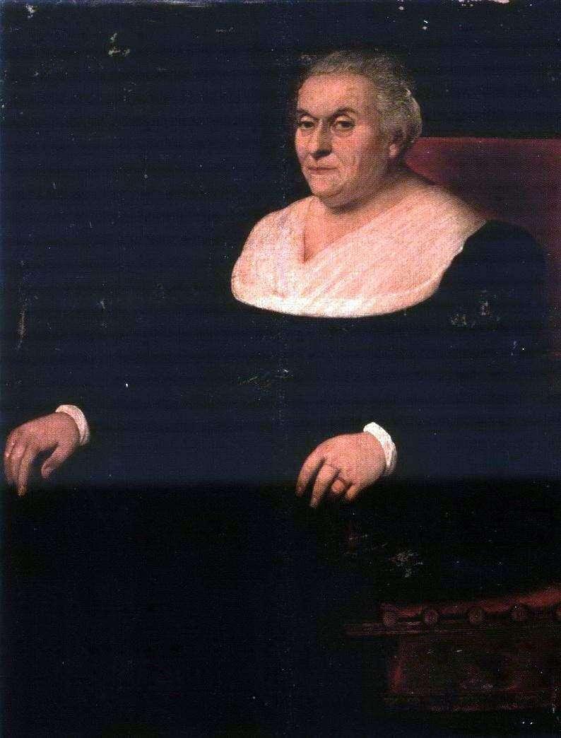 Portret kobiety   Jacopo Bassano