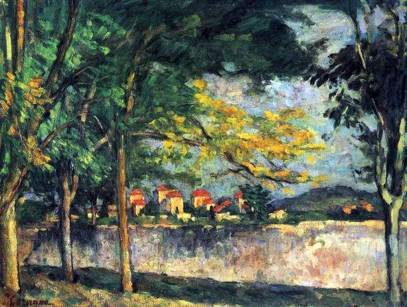 Ulica   Paul Cezanne