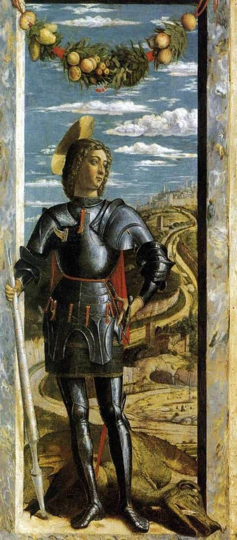 Saint George   Andrea Mantegna