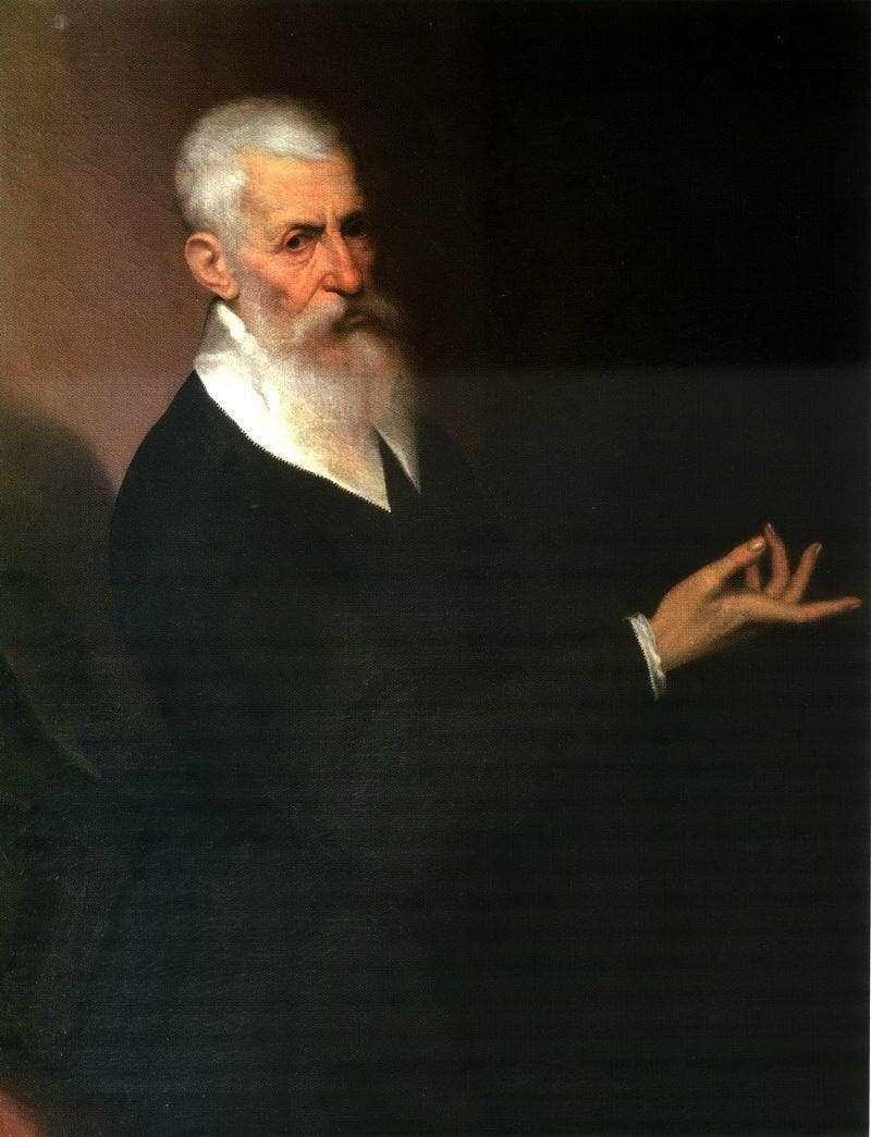 Portret mężczyzny   Jacopo Bassano