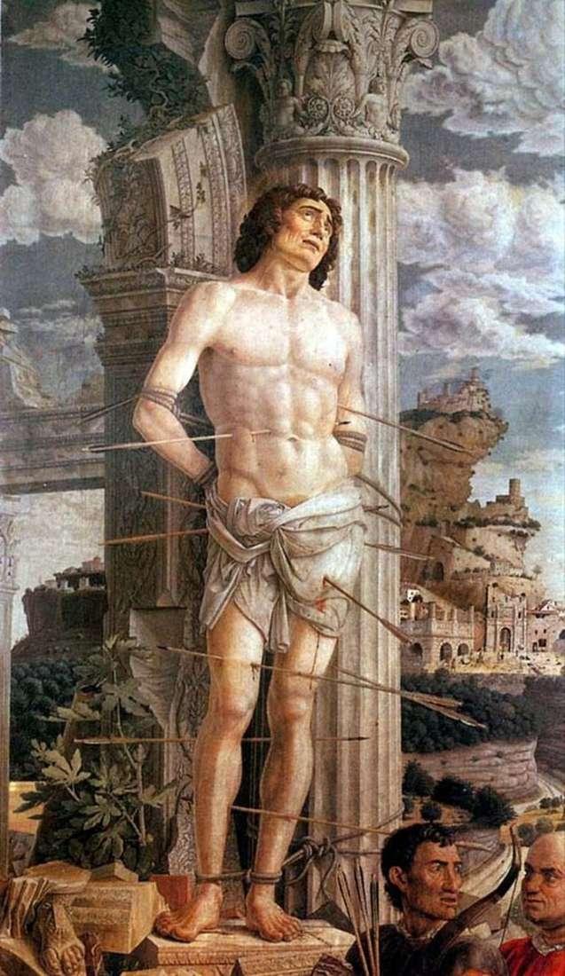 Święty Sebastian   Andrea Mantegna