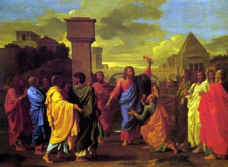 Osadzanie   Nicolas Poussin