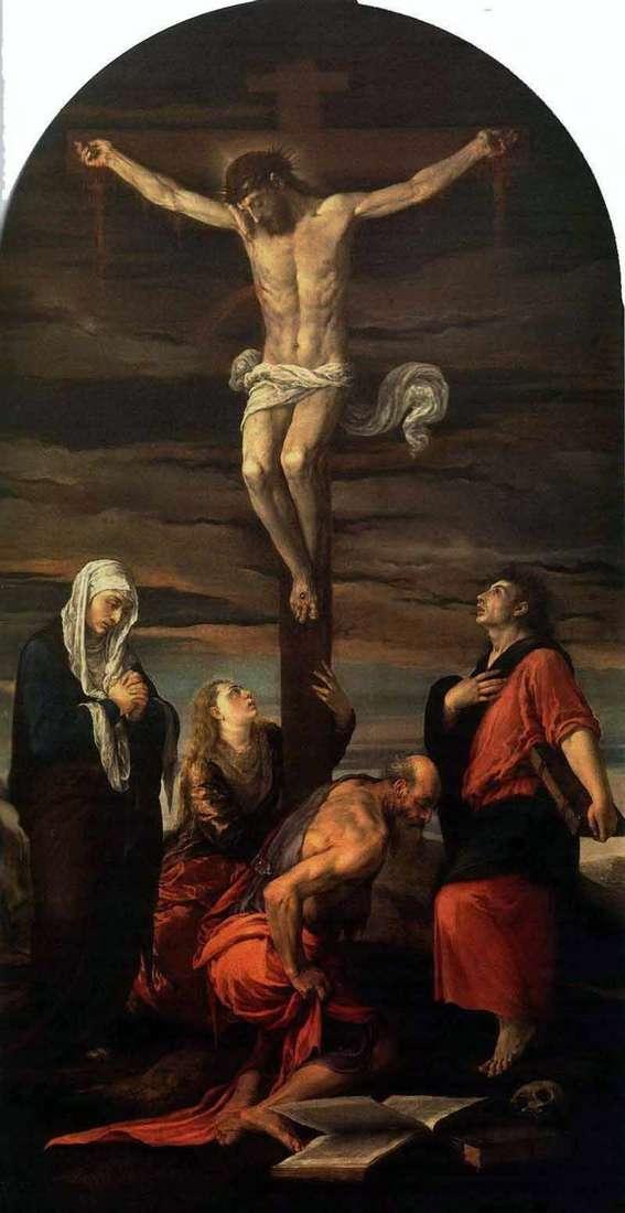Ukrzyżowanie   Jacopo Bassano