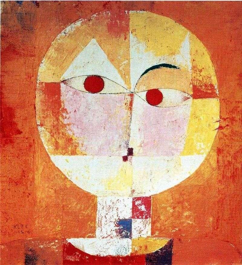 Senekio   Paul Klee