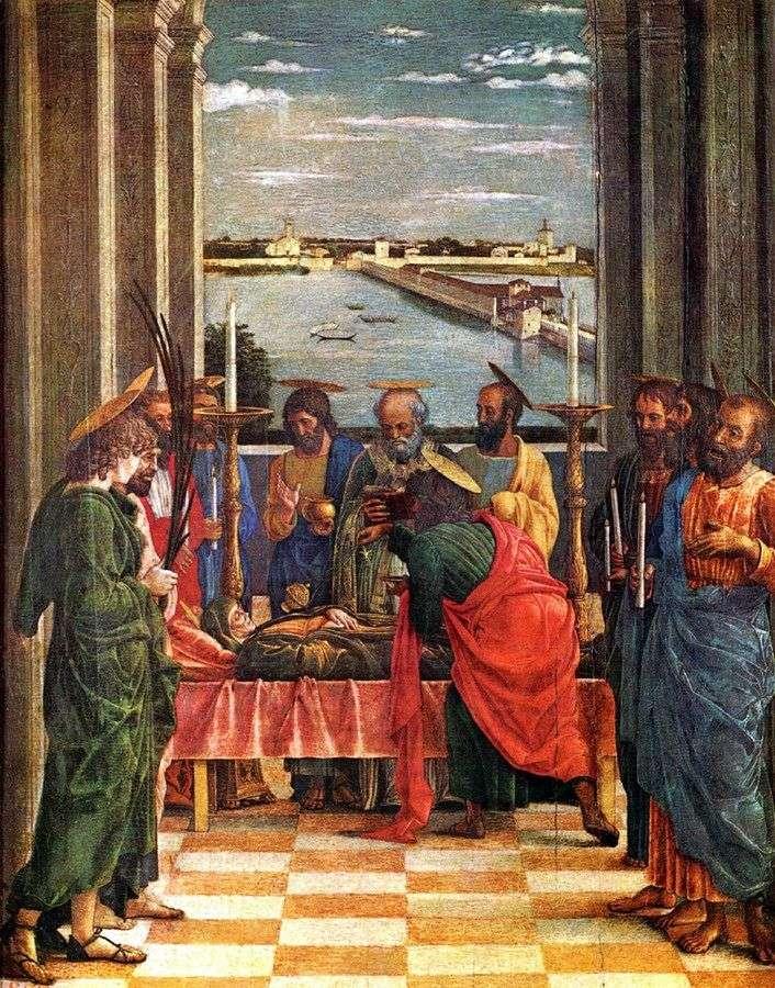 Wniebowzięcie Najświętszej Maryi Panny   Andrea Mantegna