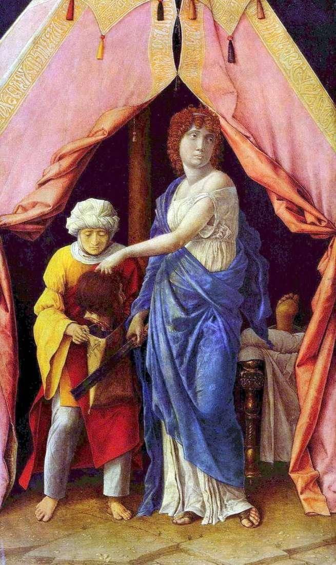 Judith and Holofernes   Andrea Mantegna