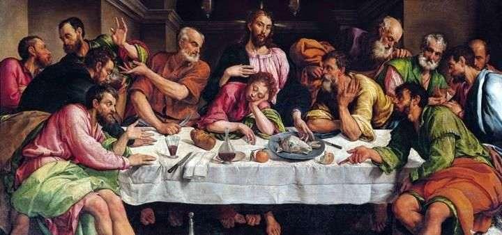 Ostatnia Wieczerza   Jacopo Bassano