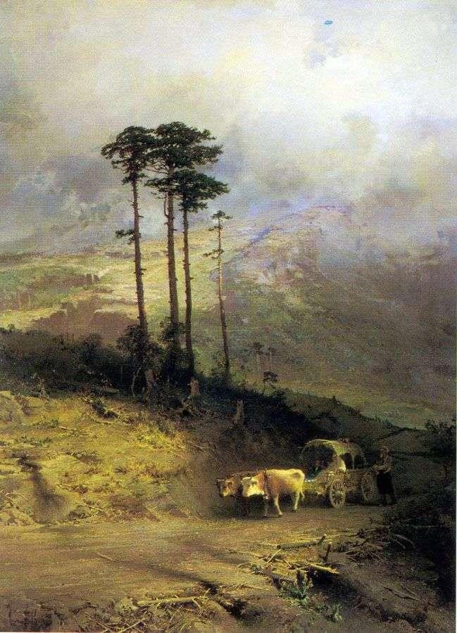 W Górach Krymskich   Fiodor Wasiljew