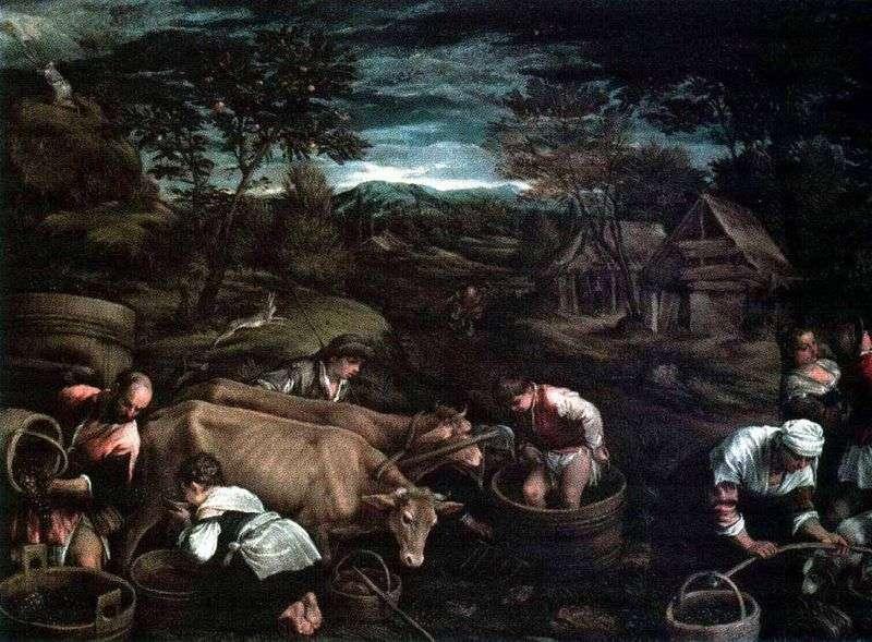 Żniwa   Jacopo Bassano