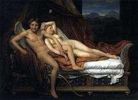 Kupidyn i Psyche   Jacques Louis David