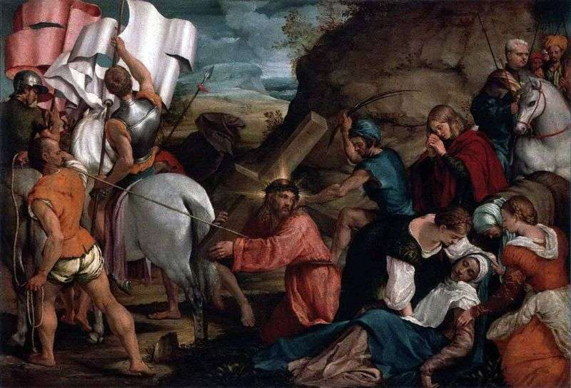 Procesja na Kalwarii   Jacopo Bassano
