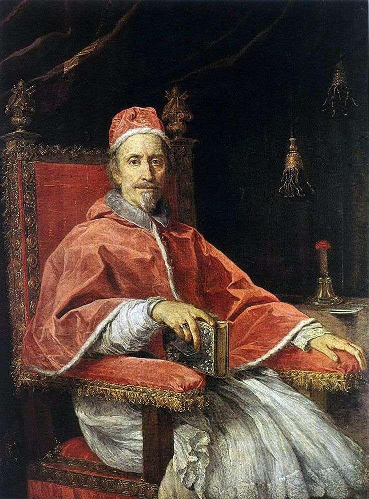 Portret papieża Klemensa IX   Carlo Maratta