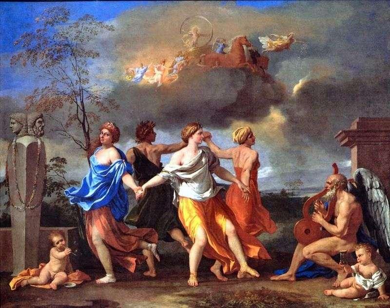 Tańcz do muzyki czasu   Nicolas Poussin