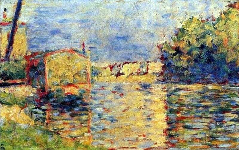 Brzeg rzeki   Georges Cera