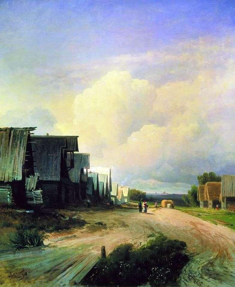 Village Street   Fedor Vasilyev