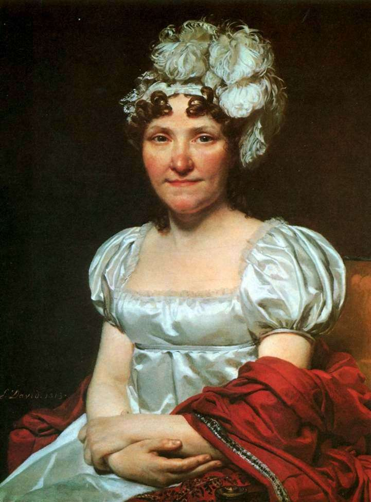 Margarita Charlotte David   Jacques Louis David