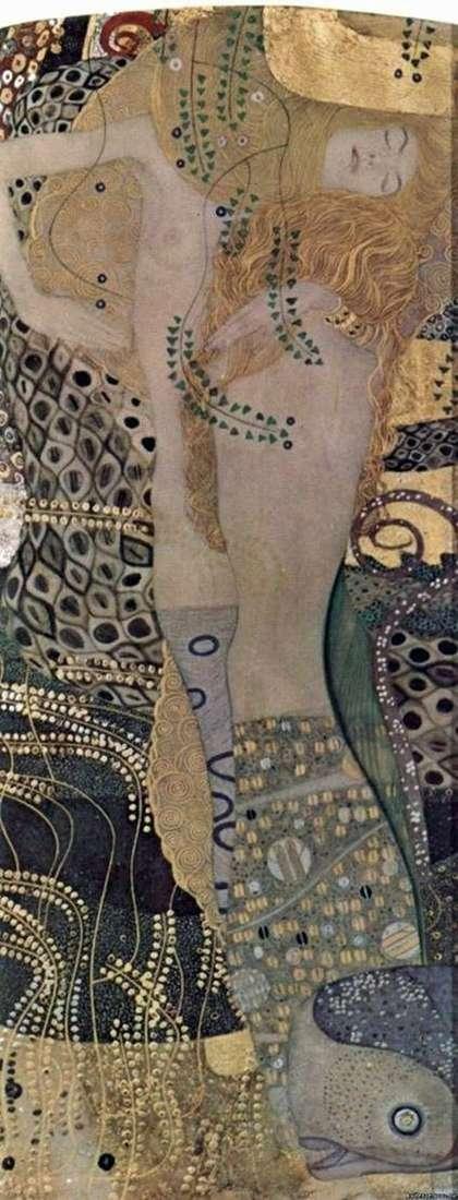 Węże wodne   Gustav Klimt
