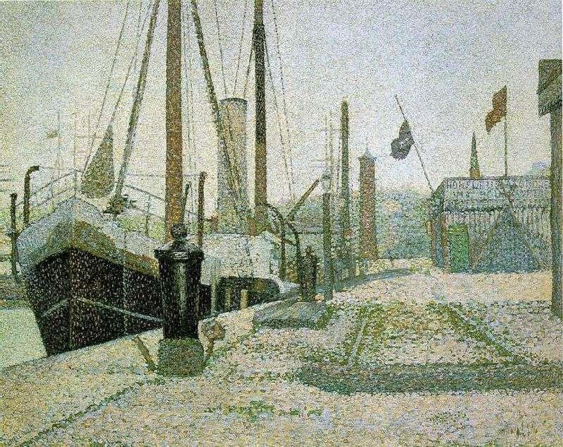 Port w Honfleur   Georges Cera