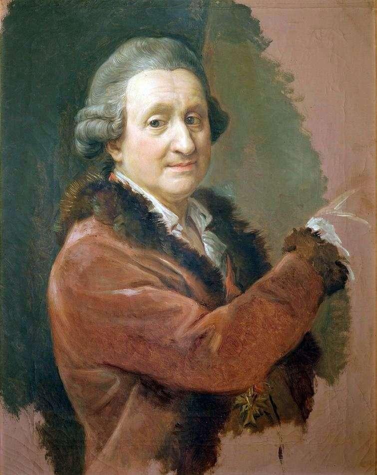Autoportret   Pompeo Batoni