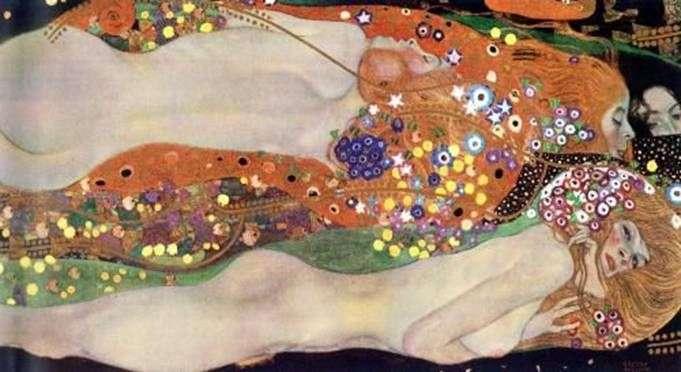 Węże wodne II   Gustav Klimt