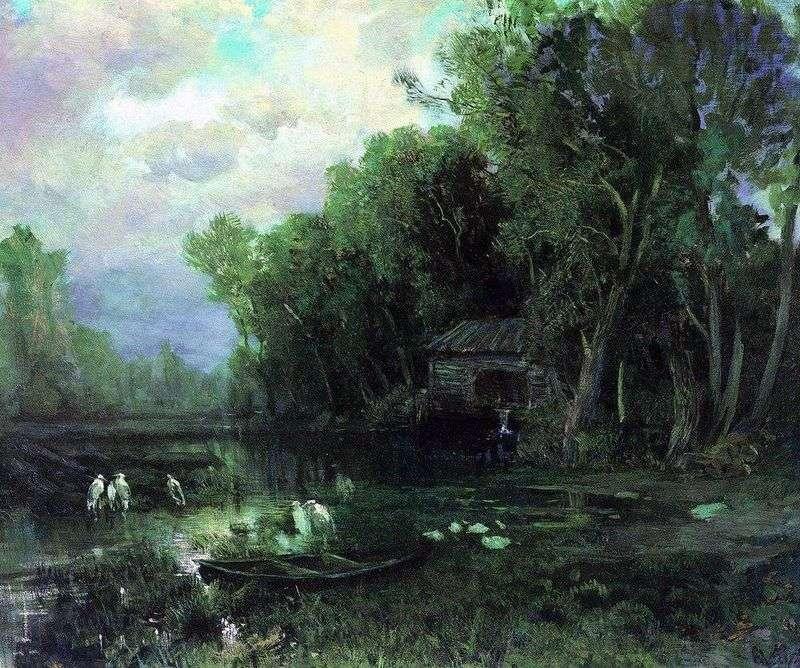 Opuszczony młyn   Fiodor Wasiljew