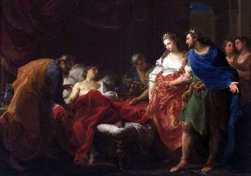 Antiochus i Stratonica   Pompeo Batoni
