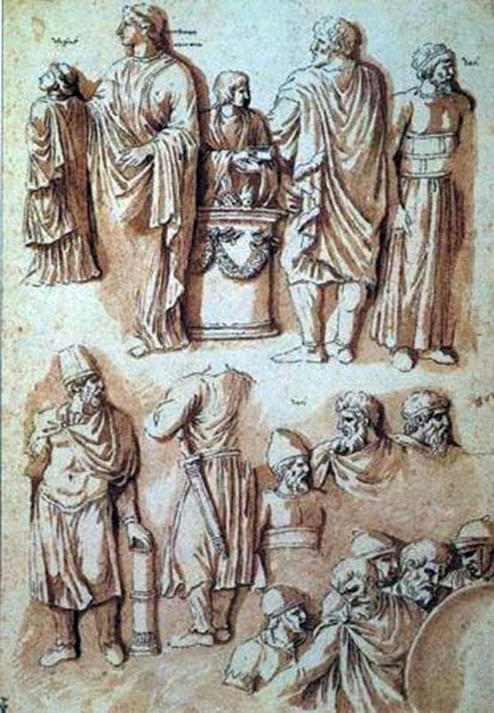 Liczby z kolumny Trajana   Nicolasa Poussina