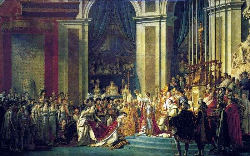 Namaszczenie Napoleona I i Koronacja Józefiny   Jacques Louis David